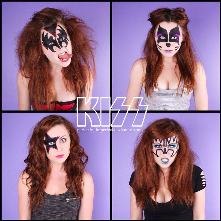 KISS makeup - por Perfectly--Imperfect - deviantART