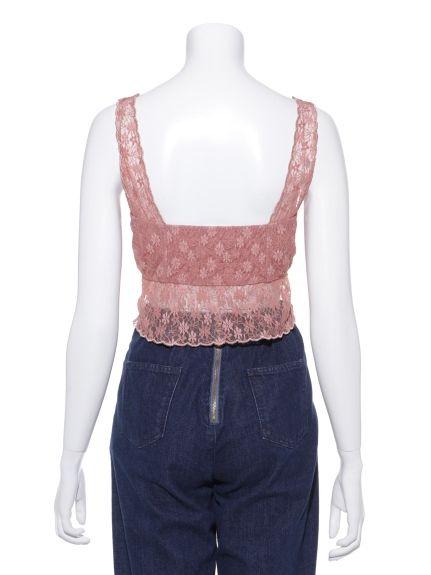 スカラップブラトップ(チューブ・ベアトップ)|Lily Brown(リリーブラウン)|ファッション通販|ウサギオンライン公式通販サイト