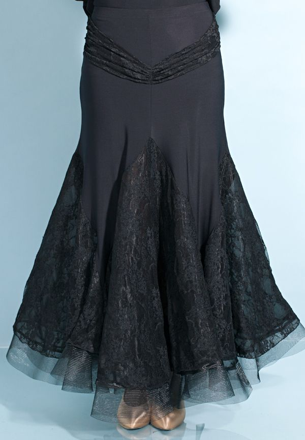 Chrisanne Morena Romance Ballroom Dance Skirt   Dancesport Fashion @ DanceShopper.com