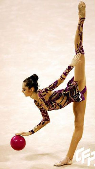 Oh how I miss Rhythmic Gymnastics!! - This is what I used to do :)