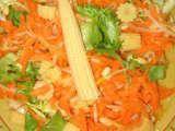 Recette Salade Chinoise fraîcheur pour canicule parisienne
