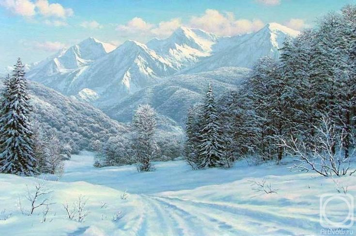 Олейник Аркадий. Красная поляна. Хребет Аибга