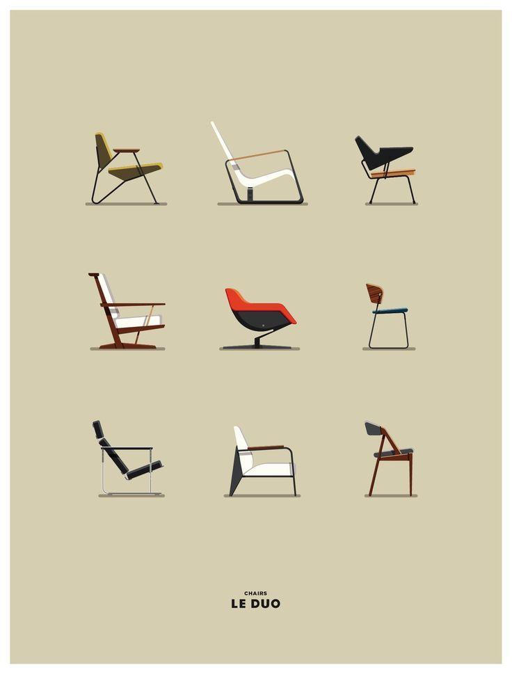 Ein Design für jede Persönlichkeit. Welcher Stuh…