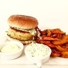 verse kabeljauwburger