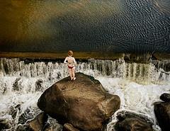 Waterfalls at the Gorge in Launceston, Tasmania. Photo courtesy of Dr. Martin Oretsky.