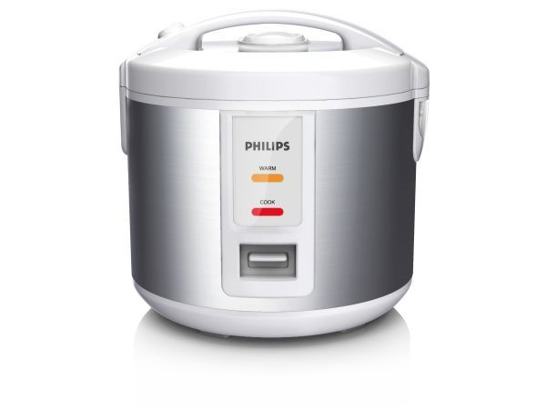 Philips Rice Cooker - Tasty rice makes the whole meal more enjoyable and if there is a quick and easy way to cook it, we're all for it. The Philips Rice Cooker has a five layer inner pot that can generate high heat and transmits the heat evenly, which creates fluffy, flavourful rice every time.