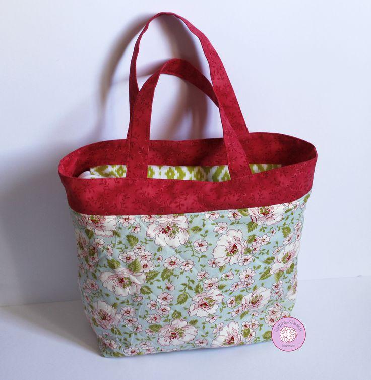 #bolso #personalizado #patchwork #handmade #hechoamano #telas #fabrics #costura