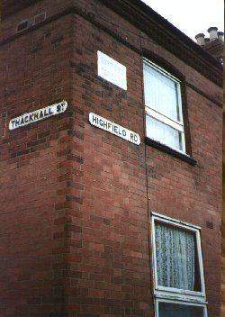 Thackhall Street meets Highfield Road
