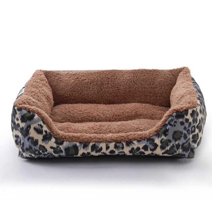 Pet dog Puppy Soft Blue Camouflage Patterns Bed House Square Durable Dog Indoor Sofa >>> Amazing product just a click away  : Dog Beds and Furniture