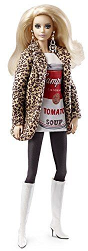Barbie Collector Andy Warhol Campbell's Soup Can 1 Doll, http://www.amazon.com/dp/B014V91QY4/ref=cm_sw_r_pi_awdm_x_Cuv3xb6V0ARYE