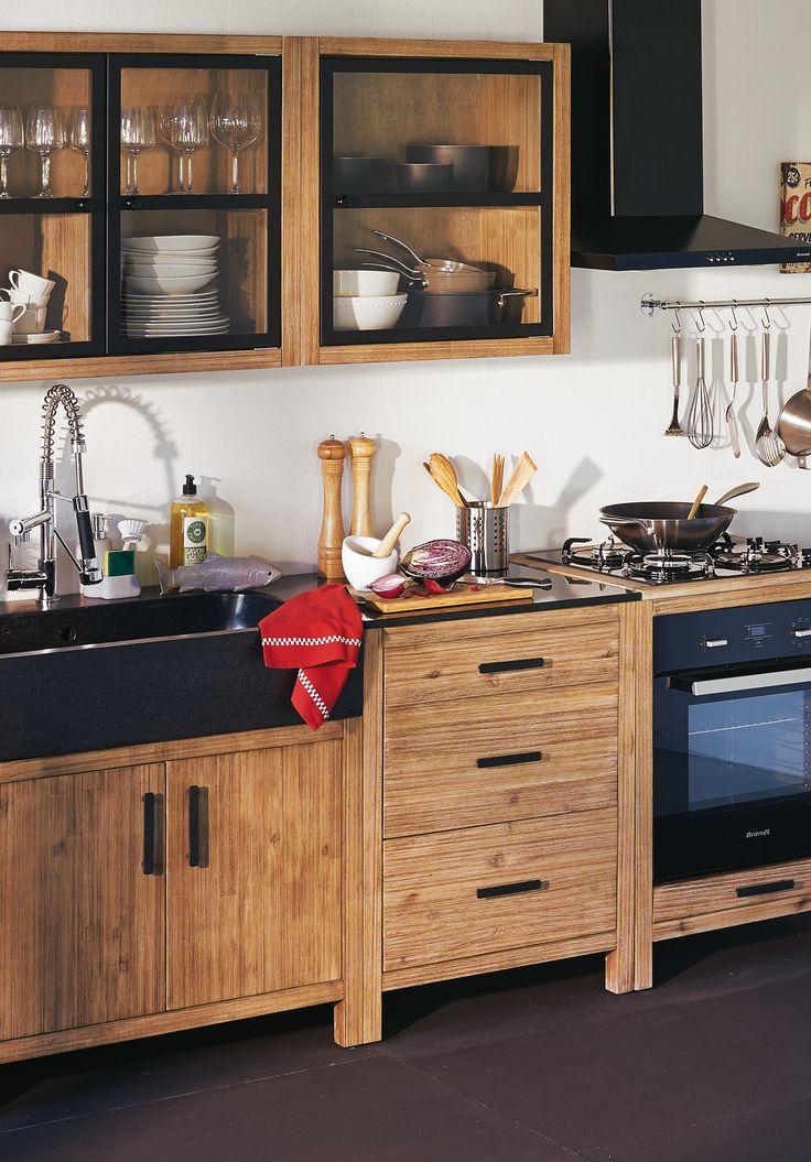 meubles de cuisine lys cocinas pinterest cuisine. Black Bedroom Furniture Sets. Home Design Ideas