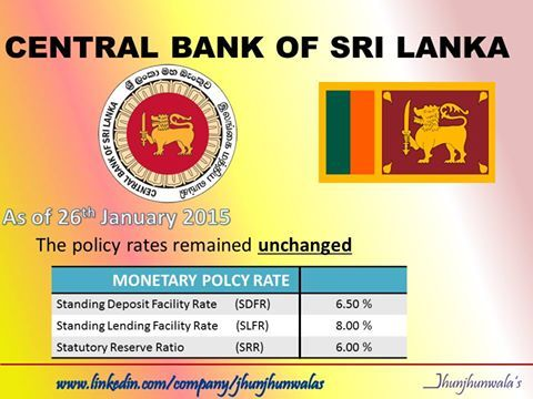 central bank of srilanka The central bank of sri lanka (cbsl) (sinhala: ශ්‍රී ලංකා මහ බැංකුව sri lanka maha bænkuwa) is the monetary authority of sri lanka.
