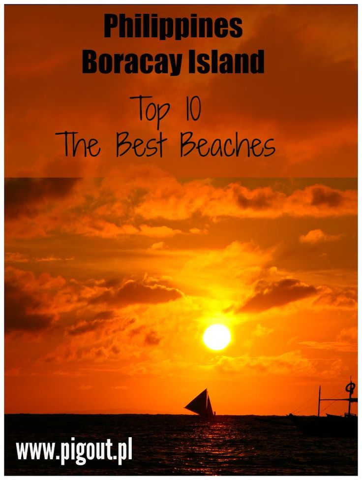 The best beaches in Boracay Island, Philippines.