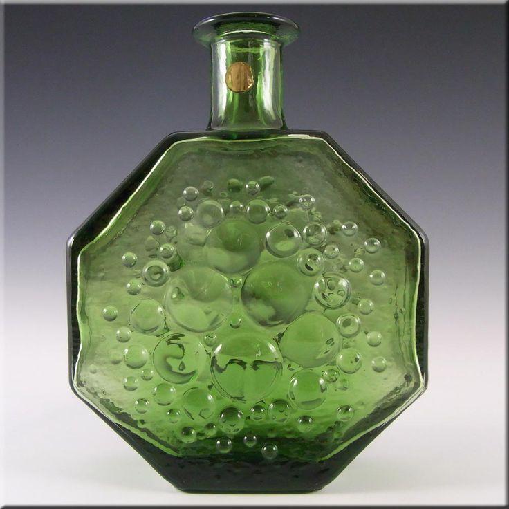 Riihimaki/Riihimaen Glass Nanny Still Polaris Vase 1720 - £79.99