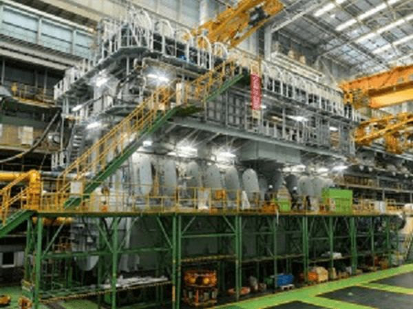 Doosan Engine has reported that the initial start of an MAN B&W 11G95ME-C9.5 two-stroke engine took place during October 2015 at its works in Korea –a successful shop-test subsequently followed.