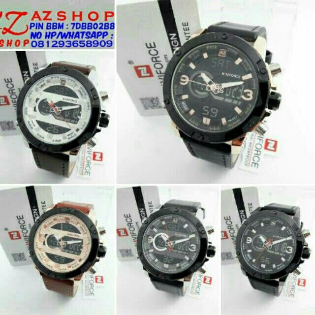 Saya menjual Jam Tangan Pria Naviforce NF 9097 Dualtime Leather Original Murah seharga Rp330.000. Dapatkan produk ini hanya di Shopee! https://shopee.co.id/azshop30/266635413 #ShopeeID
