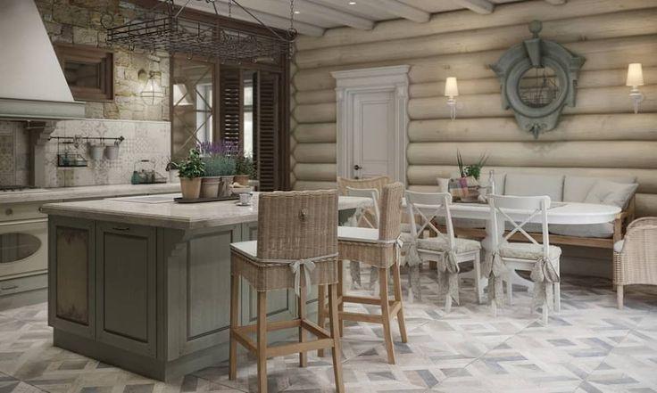 Дизайн интерьера дома в п.Зеленое: Столовые комнаты в . Автор - MJMarchdesign