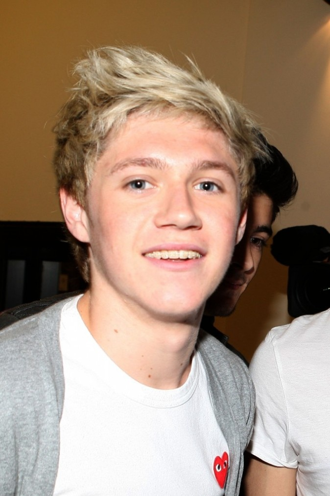 Niall Horan. Thank god they got him braces.