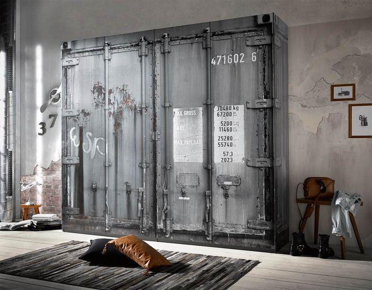 72 best Industriedesign images on Pinterest Furniture, Home - schrank für schlafzimmer