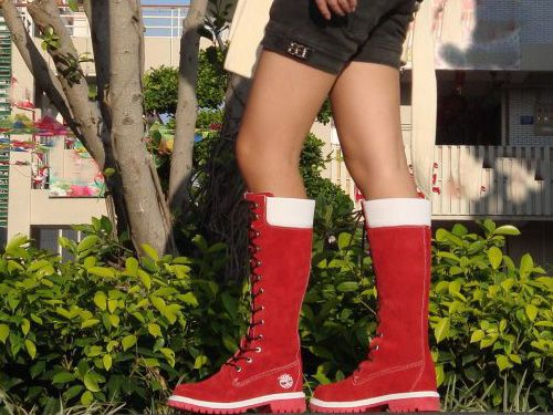 timberland boots for women, timberland 14 inch boots red, red and white timberland long boots, zip lace timberland boots womens, timberland 14 inch premium boot, 14 inch timberland boots