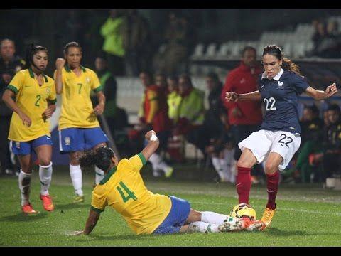 France-Brésil Féminines (2-0), buts et occasions !