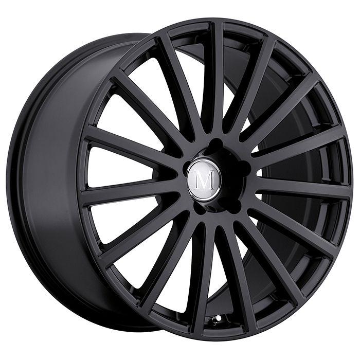 17 MANDRUS ROTEC MATTE BLACK 8J 5 stud 32 offset alloy wheels MANDRUS ROTEC…