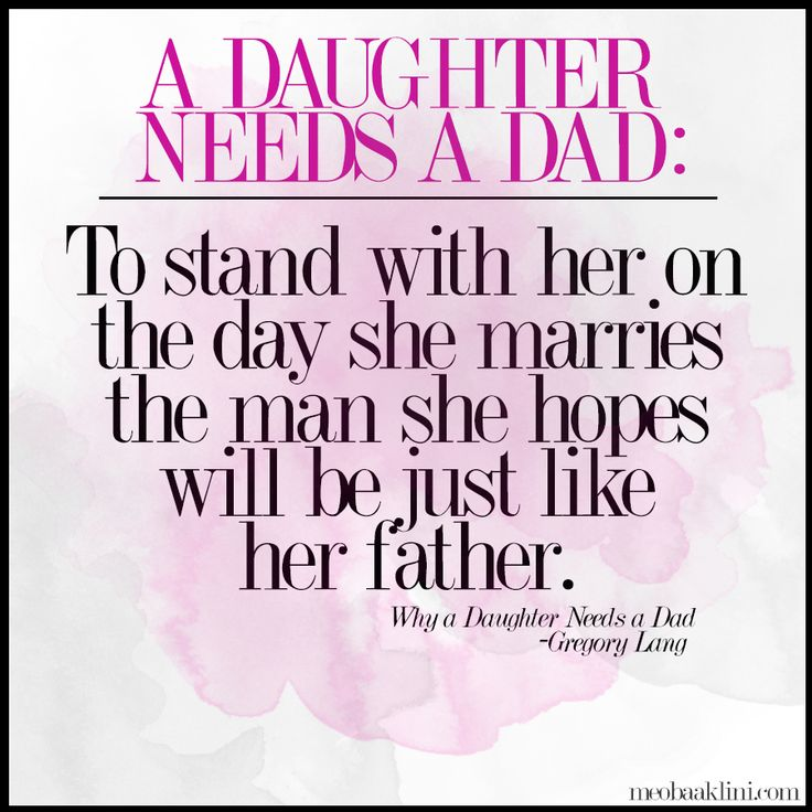 Quote from the book, Why a Daughter Needs a Dad by Gregory ...