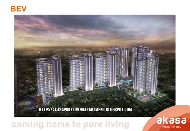 Akasa Pure Living BSD Apartment