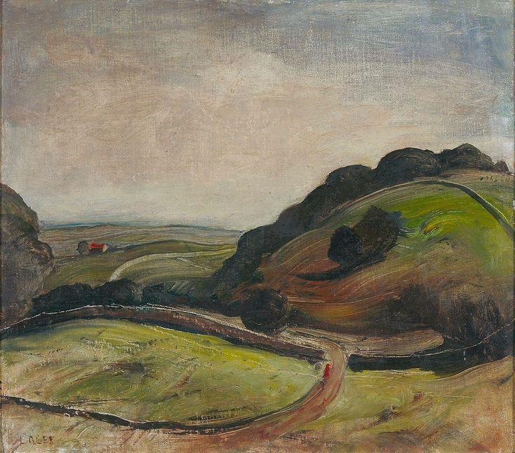 Lloyd Rees (1895-1988) Mountain Slopes Near Berry