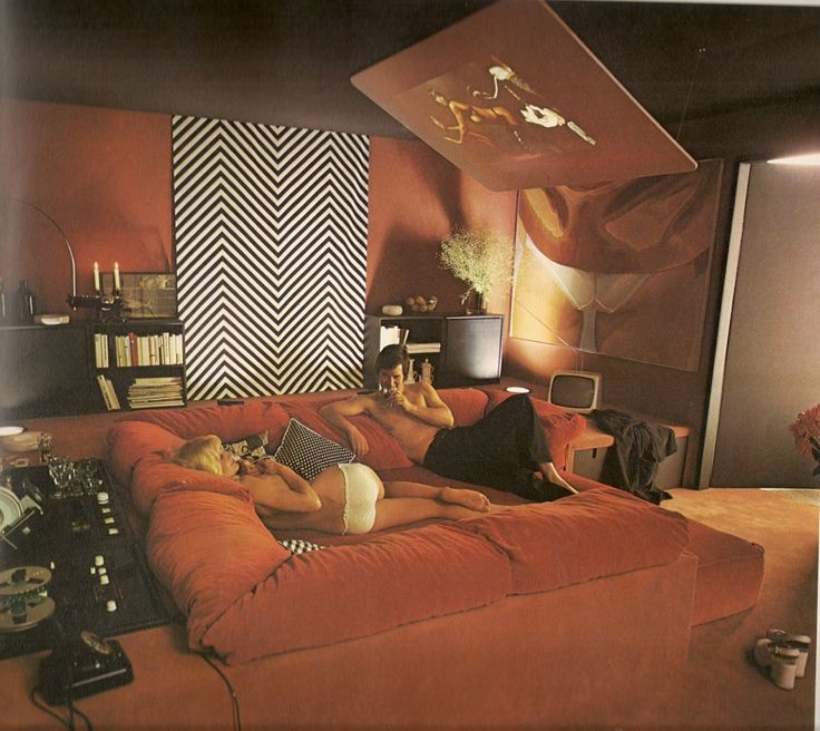 70 Bachelor Pad Living Room Ideas: 65 Best 70s Interiors Images On Pinterest