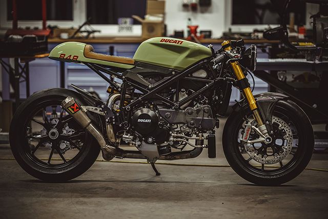 Heavily Caffeinated Ducati 848 Evo By Nct Motorcycles Written