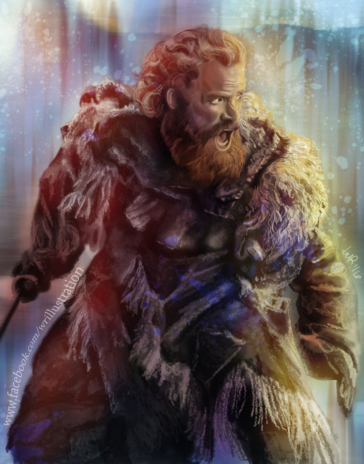 Love this show and loved doing this commission of Tormund!  www.facebook.com/wrillustration to check out more of my work!