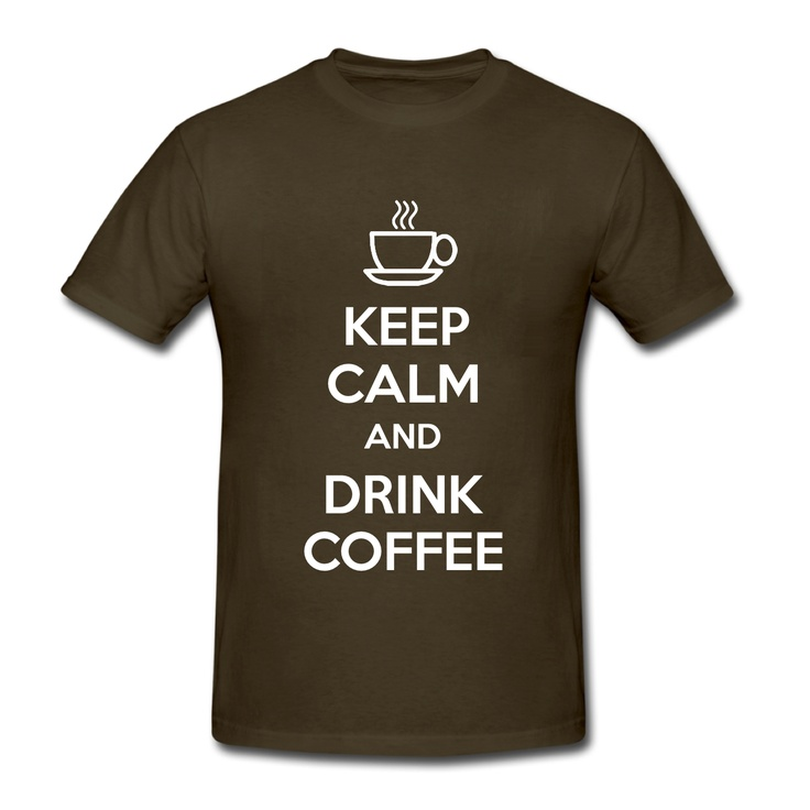 Keep Calm and Drink Coffee T-Shirt http://www.excelcy.com/2013/03/keep-calm-and-drink-coffee-t-shirt.html