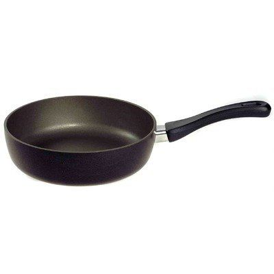 ELO 61528 Granite Aluminum Non-Stick Saute Pan, 11-Inch, Black by Leuble Inc./ELO. $85.62. Just the right weight and strength. Non-stick coating. 11-inch saute pan. Easy-grip handles with flame guards. Black colored. These non-stick frying pans have just the right weight and strength. The easy-grip handles have flame guards.