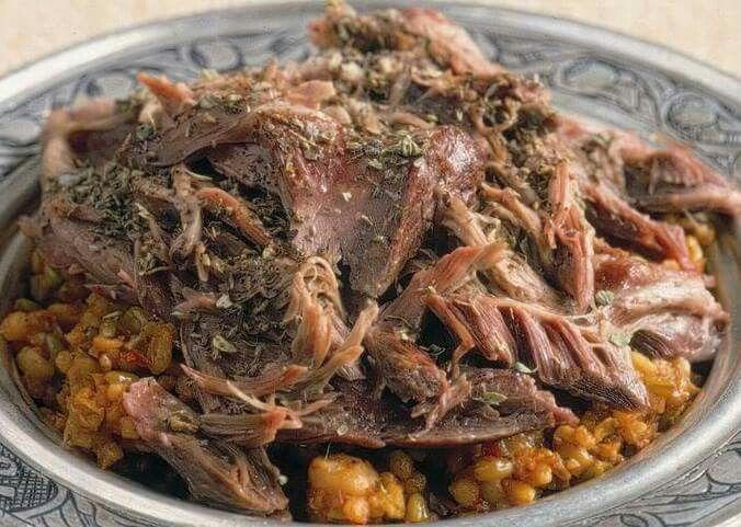 Cebiç Konya'da yapılan bir yemek