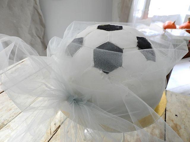 Fodbold kage (glutenfri, vegansk)