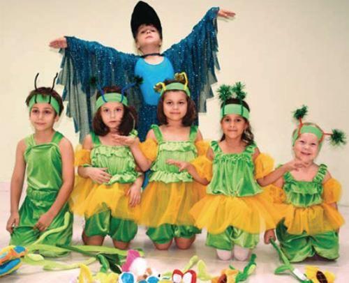 Каталог костюмов для танцевальных детских ансамблей