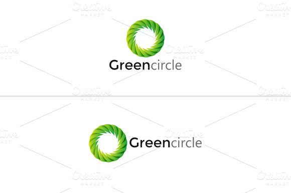 I just released Green Circle Logo on Creative Market.