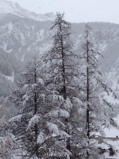 ... ed è subito inverno, in Queyras.  Non rimane che infilare gli sci ai piedi! #Francia #montagna