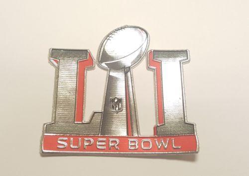 New PLASTIC New England Patriots vs Atlanta Falcons NFL Super Bowl LI 51 Patch