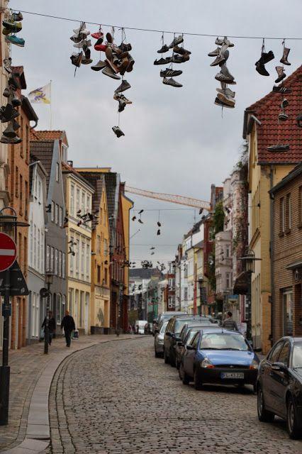 Norderstraße, Flensburg http://www.gluecksburg-urlaub.de/