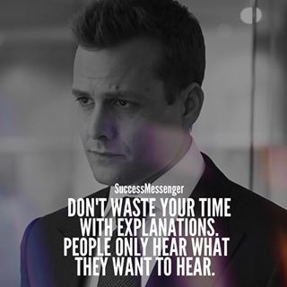 harvey specter quotes - those who matter don't mind and those who mind don't matter.