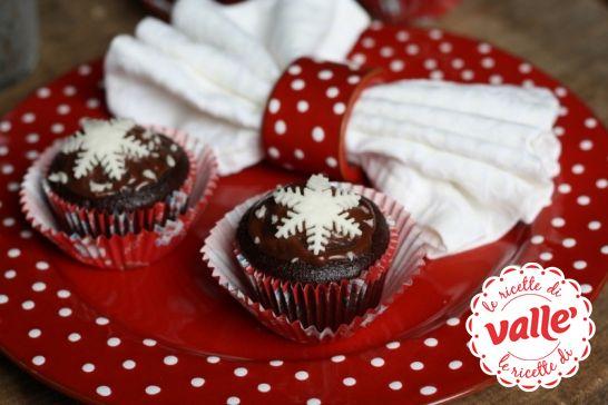 #Muffins al cioccolato innevati #natale #christmas