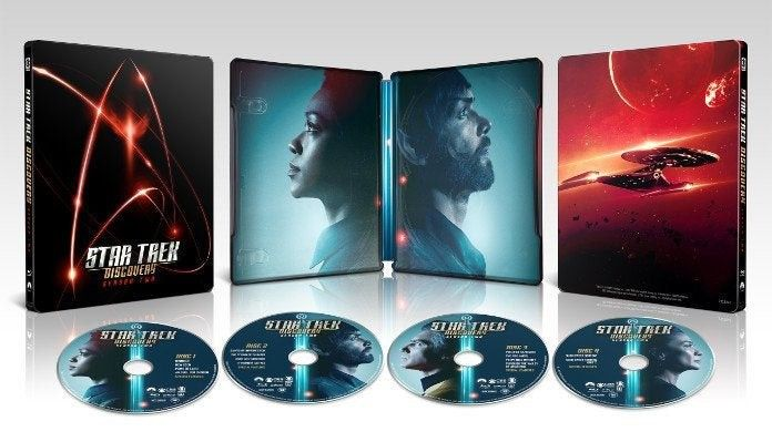 Star Trek Discovery Season 2 Getting Steelbook Blu Ray Release Comicbook Com Star Trek Cool Things To Buy Trek
