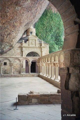 Monasterio de San Juan de la Peña, Huesca Spain http://www.facebook.com/Pyrenees.Pirineos