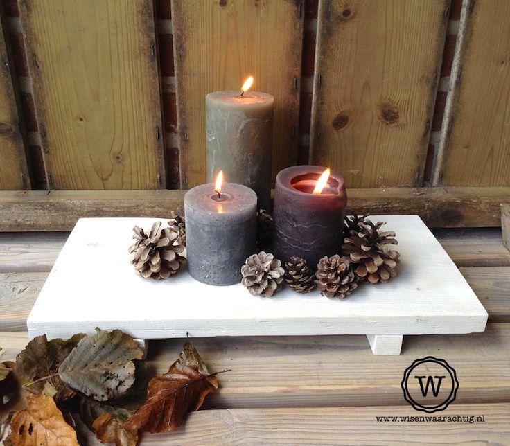 25 beste idee n over herfst kaarsen op pinterest herfst pronkstukken oogst versieringen en - Deco halloween tafel maak me ...