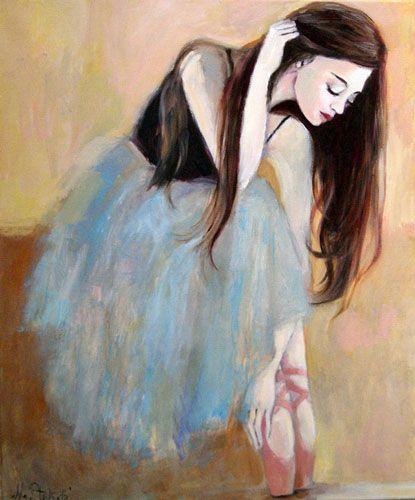 Mariola Ptak, baletnica, malarstwo, wnętrza, sztuka
