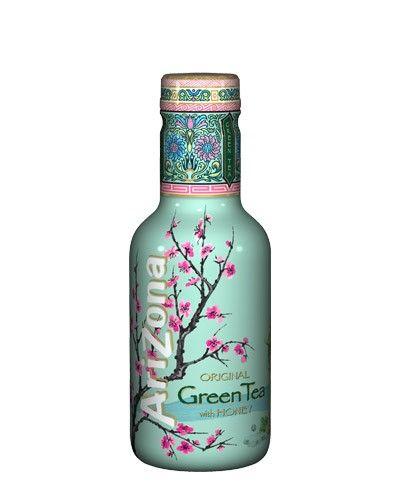 Arizona ice tea green  Description: Een heerlijke klassieker nu bij Jamin! Ken je dit drankje nog niet? Arizona ice tea green is een verfrissende ijsthee. Deze ijsthee bestaat volledig uit natuurlijke ingrediënten zoals groene thee en honing! In deze fles zit 500 ml Arizona.    Price: 1.75  Meer informatie  #Jamin