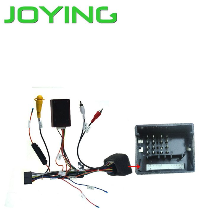Joying Car Audio Stereo Head Unit dash wiring harness wire Cable with Canbus for Ford Mondeo Focus special for Joying