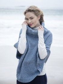 Aran Wool & Silk Cape R625
